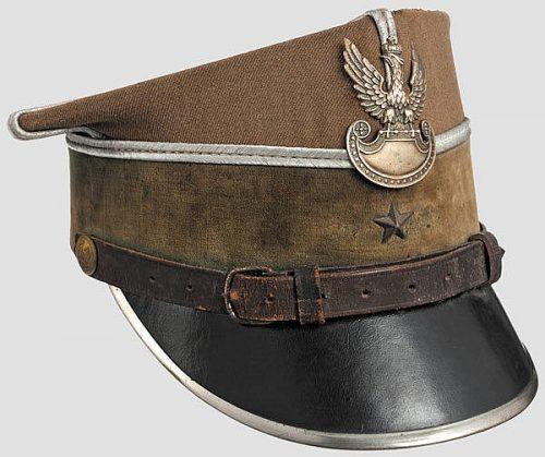 Рогативки офицеров разных родов войск образца 1935 года.