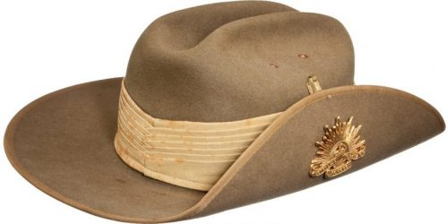 Армейская шляпа.