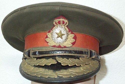 Фуражка генерала кавалерии.