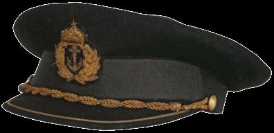Парадная фуражка офицера Дунайской флотилии.