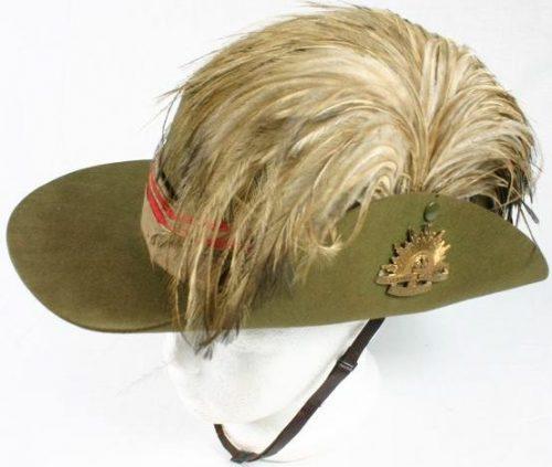 Шляпа полковника австралийской легкой кавалерии.