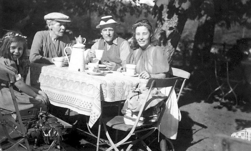 Жители Пиллау. 1941 г.
