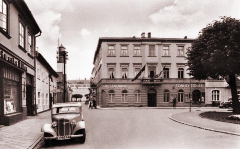 Гостиница «Немецкий дом». 1941 г.