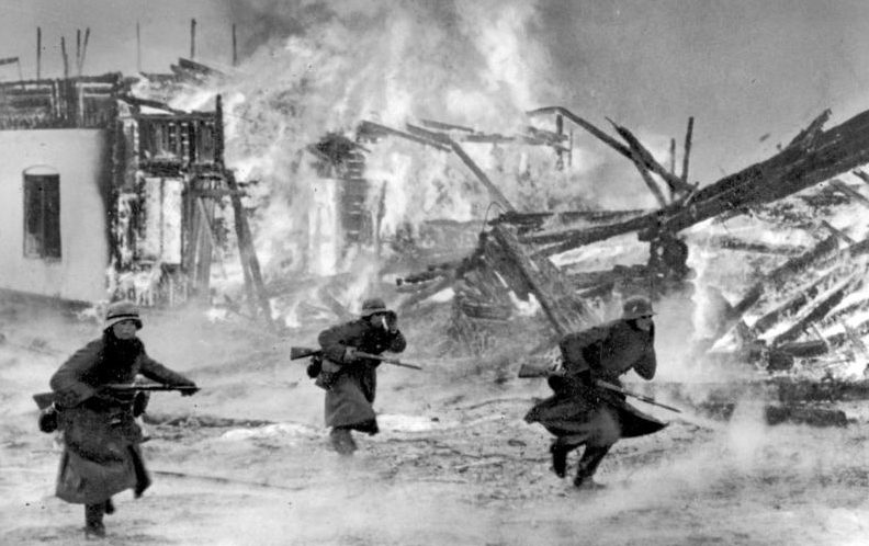 Бой около Лиллехаммера. Апрель 1940 г.