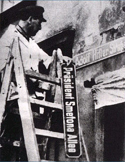 Смена названий улиц города. Апрель 1939 г.