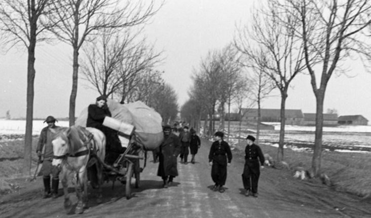 Евреи покидают Мемель. Сентябрь 1939 г.