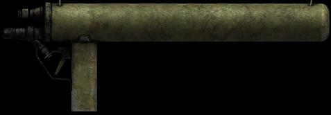Одноразовый огнемет «Einstossflammenwerfer 46».