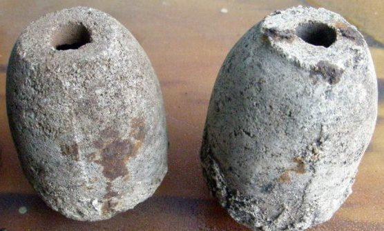 Корпуса эрзац-гранат Volkshandgranate могли иметь различную форму. И такую тоже.