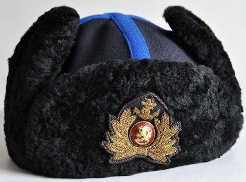 Меховая шапка М30 офицера ВМФ.