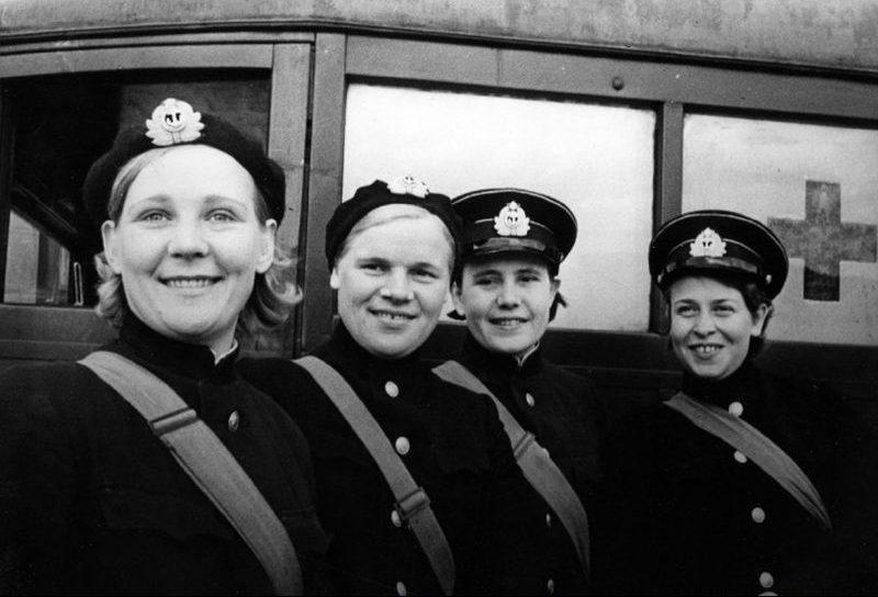 Медсестры Северного флота. 1941 г.