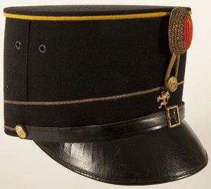 Кепи офицера кавалериста.