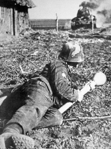 Немецкие войска в обороне Мемеля. Октябрь 1944 г.