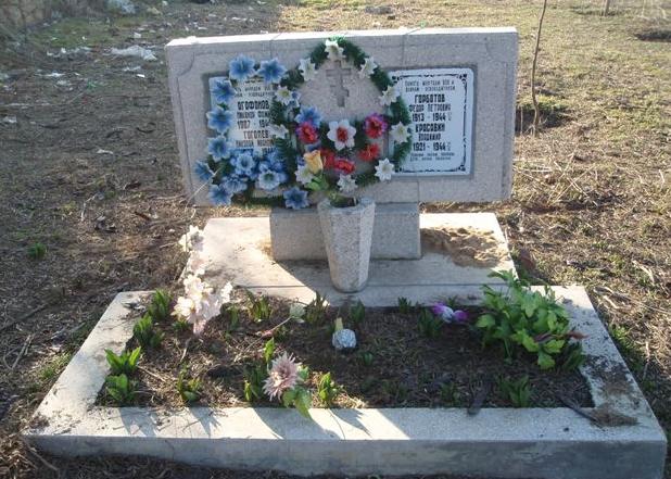г. Николаев, п. Балабановка. Братские могилы советских воинов.