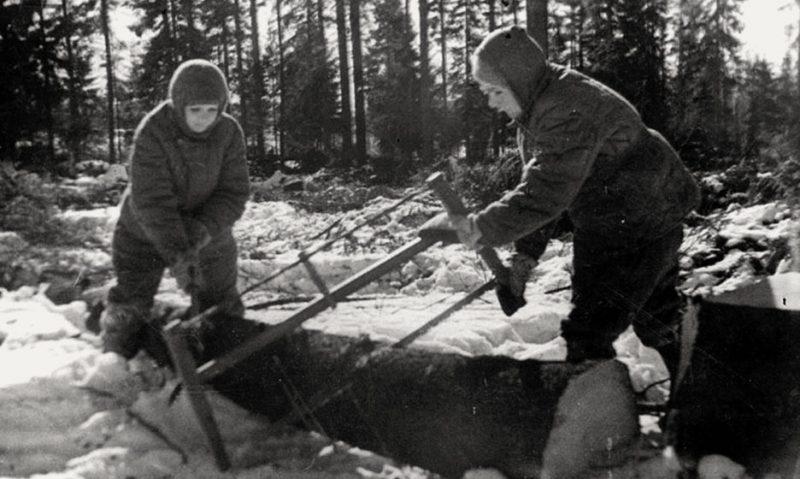 Лес – фронту. 1942 г.