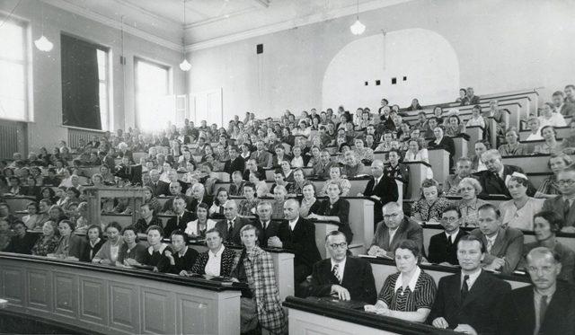 Курсы учителей русского языка в Тарту. Август 1940 г.