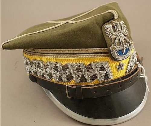 Рогативка бригадного генерала моторизованных войск образца 1935 года.