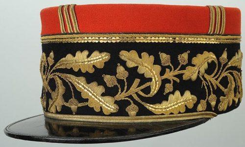 Кепи бригадного генерала армии Франции де Голля образца 1931 г.