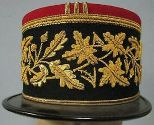 Кепи бригадного генерала армии Франции образца 1935 г.