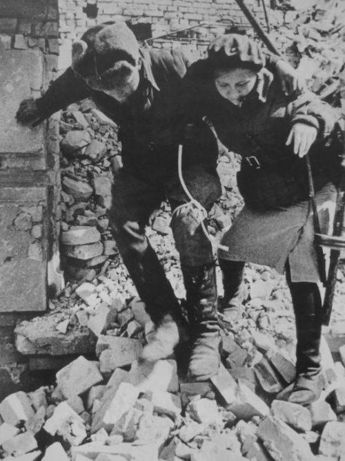 Раненный в Сталинграде Октябрь 1942 г.