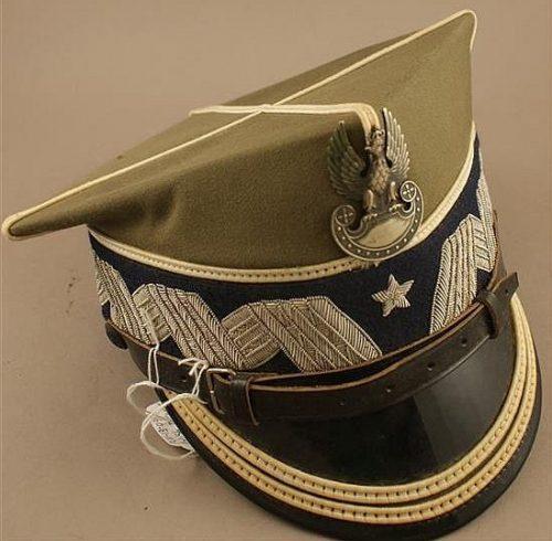 Рогативка пехотного бригадного генерала образца 1935 года.