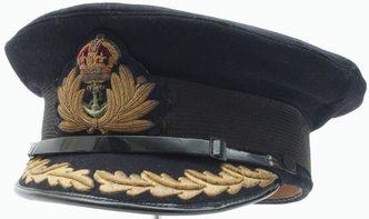 Фуражки старших офицеров ВМС.