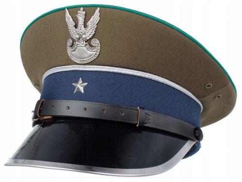 Круглые фуражки офицеров пограничного корпуса образца 1936 года.