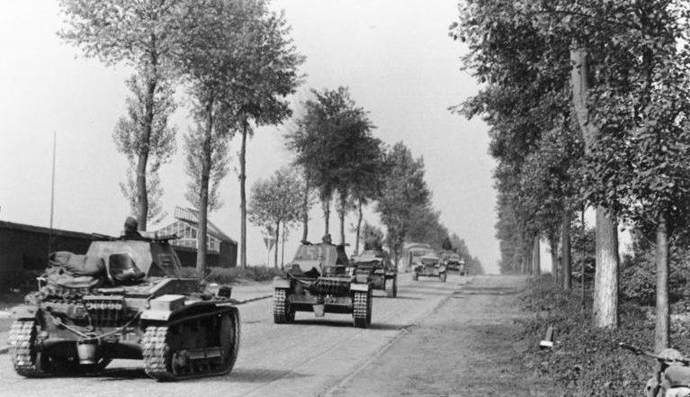 Немецкие войска в Бельгии. Май 1940 г.