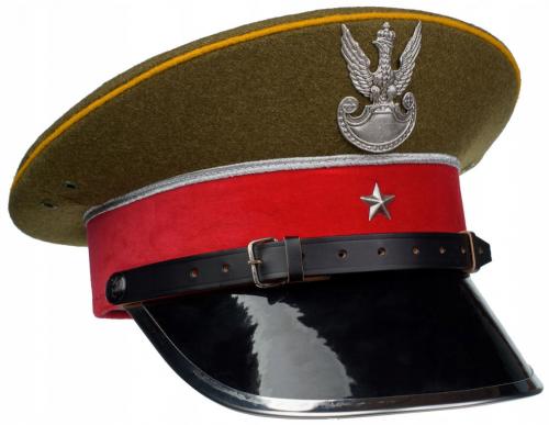 Круглая фуражка офицера морского дивизиона жандармерии образца 1936 года.