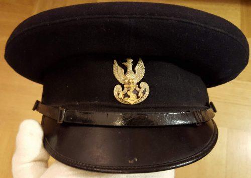 Фуражка унтер-офицера ВМС Польши.