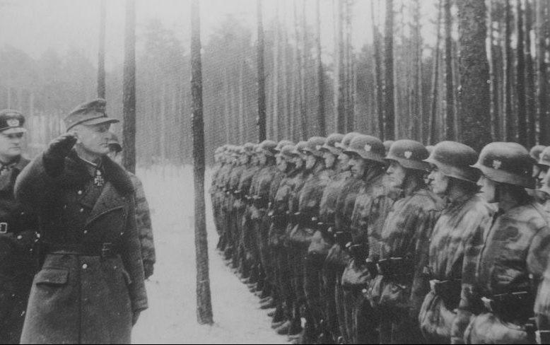 Немецкие войска в окружении у Мемеля. Декабрь 1944 г.