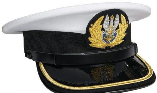Фуражки офицера ВМС Польши британского производства.