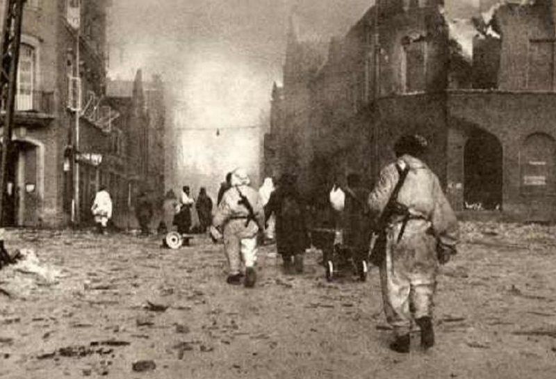 Штурм Мемеля. Январь 1945 г.