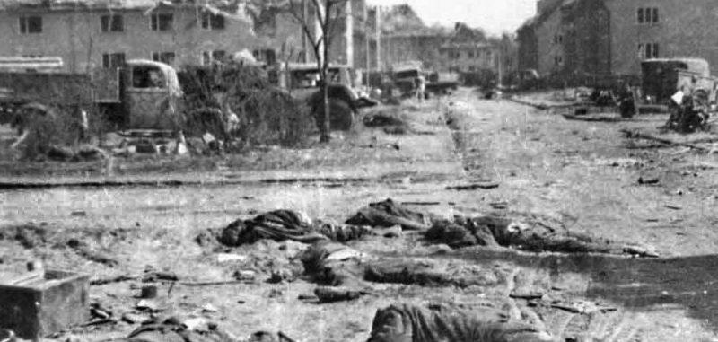 В освобожденном Пиллау. Апрель 1945 г.
