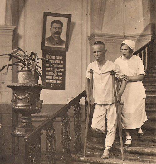 Сестры милосердия в Томских госпиталях. 1942 г.