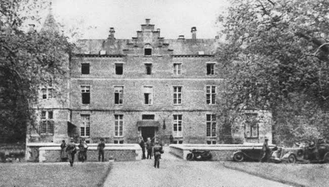 Поместье Ауваинг, где была подписана капитуляция Бельгии. Май 1940 г.