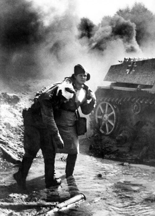 Раненный на Курской дуге. Август 1943 г.