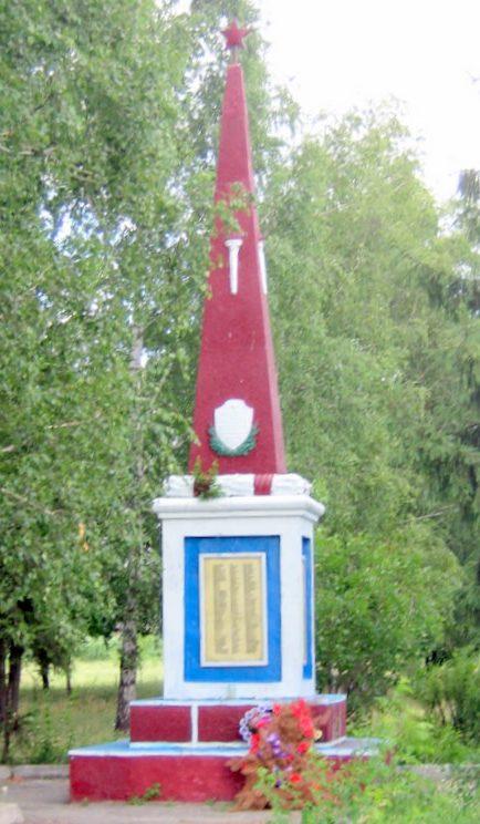 с. Витове Чигиринского р-на. Памятный знак погибшим односельчанам.