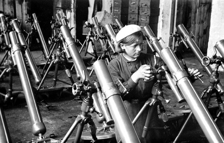 Приемка минометов. 1943 г.