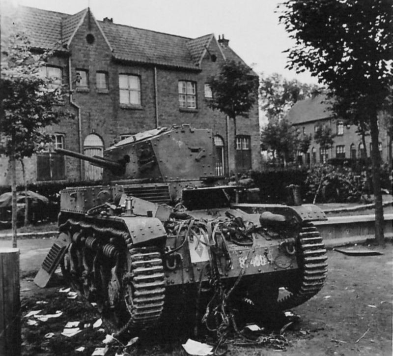 Французская военная техника, брошенная в Бельгии. Май 1940 г.