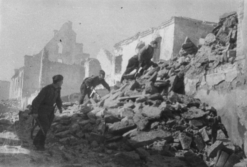 Штурм Нарвы. Июль 1944 г.