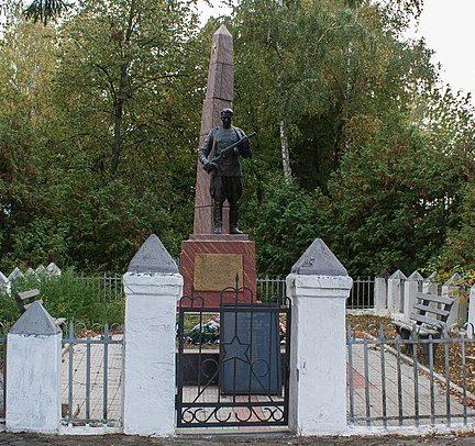с. Большая Севастьяновка Христиновского р-на. Памятник, установленный на братской могиле советских воинов.
