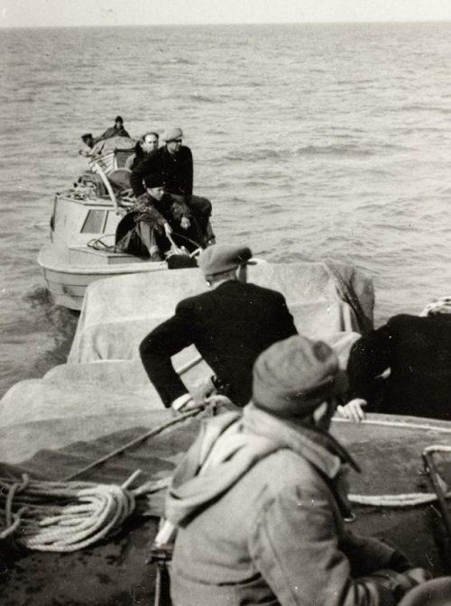 Беженцы из Ноароотси. Сентябрь 1944 г.