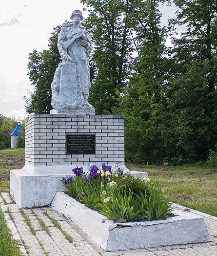 с. Звездное Христиновского р-на. Памятник воинам-односельчанам, погибшим в годы войны.