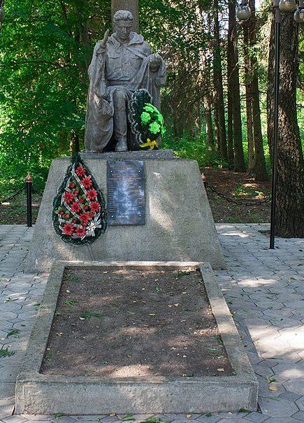 с. Пенижково Христиновского р-на. Памятник, установленный на братской могиле советских воинов.