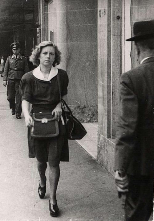 Брюссель в оккупации. 1941 г.