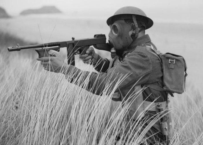 Бельгийские войска во время учений в Уэльсе. 8 июля 1941 года.
