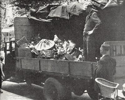 Изъятие ценностей в евреев. 1943 г.