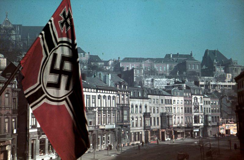 Льеж во время оккупации. 1943 г.