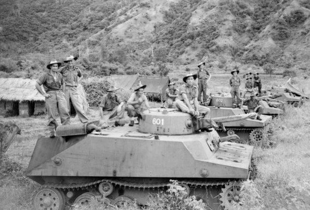 Японские танки Ка-Ми.