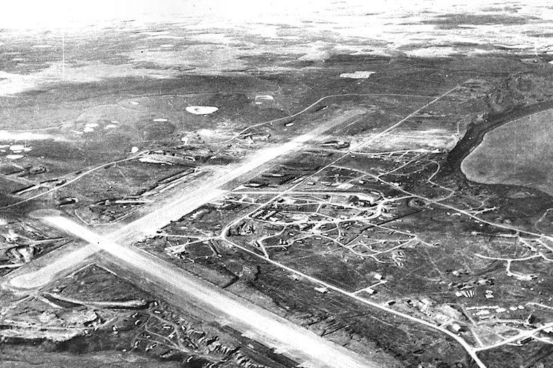 Колд-Бей в 1945 году.